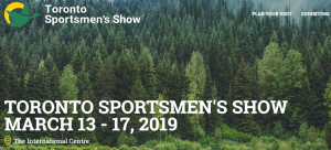 Toronto Sportsmen's Show @ The International Center