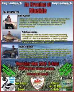 An Evening of Muskie! @ Gagnon Sports