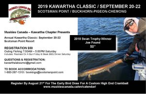 Kawartha Lakes Chapter Outing - Kawartha Classic @ Scotsman Point Resort