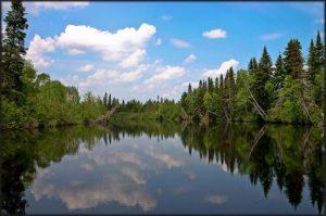 La Grande Rivière Noire Nord-Ouest.