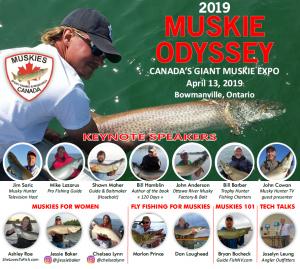 [:en]2019 Muskie Odyssey[:fr]Muskie Odyssey 2019[:] @ Garnet B. Rickard Recreational Complex